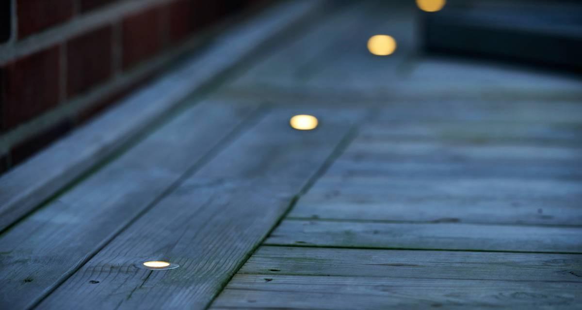 Leg med LED-lys i din bolig